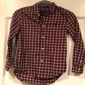 Boys polo button down shirt.